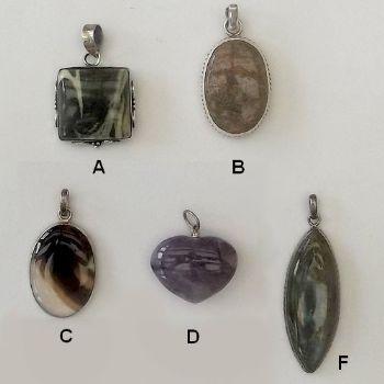 Varied Indian Pendants 3